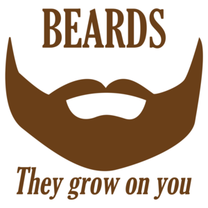 Beards They Grow On You Funny Shirt