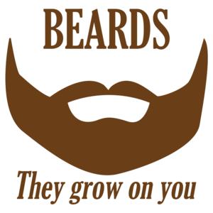 Beards They Grow On You Funny Shirt