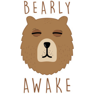 Bearly Awake - pun t-shirt
