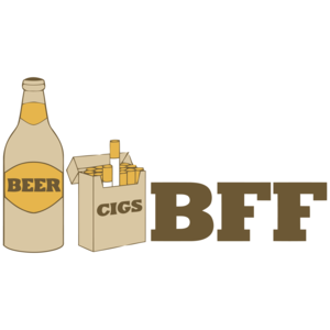 Beer And Cigs Best Friends Forever T-shirt
