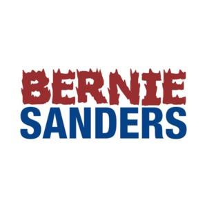 Bernie Sanders Flaming T-Shirt