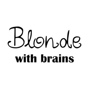Blonde with Brains  T-Shirt