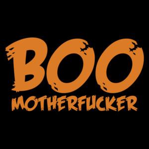 Boo Motherfucker Funny Halloween Shirt