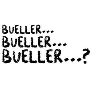Bueller? Bueller? Bueller?  Ferris Bueller's Day Off - 80's t-shirt