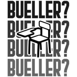 Bueller? Ferris Bueller's Day Off - 80's t-shirt