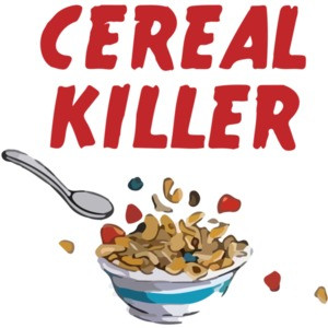 Cereal Killer Pun T-Shirt