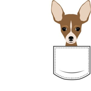 Chihuahua in pocket - pocket pet t-shirt