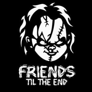 Chucky - Friends til the end - Child's Play Chucky T-Shirt
