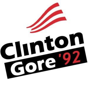 Clinton Gore 92 vintage democratic t-shirt