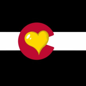 Colorado Heart - Colorado T-Shirt