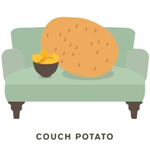 Couch Potato Pun T-Shirt