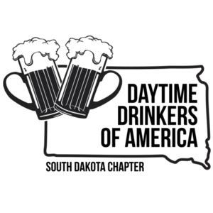 Daytime Drinkers of America - South Dakota T-Shirt