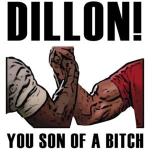 Dillon! You son of a bitch - Predator T-Shirt - Arnold Schwarzenegger