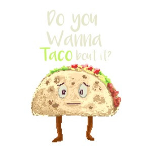 Do You Wanna Taco Bout It Retro T-Shirt
