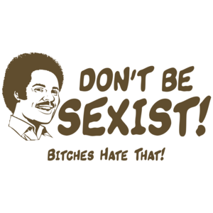 Don't Be Sexist, Bitches Hate That T-shirt