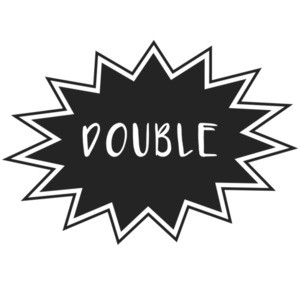 "Double Trouble - ""double"" couples Shirt"