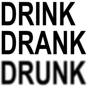 Drink Drank Drunk - Funny Drinking T-Shirt