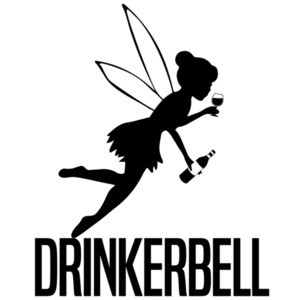 Drinkerbell - funny drinking tinkerbell parody wine t-shirt