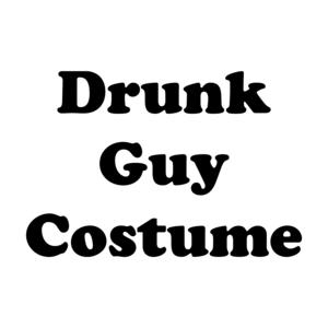 Drunk Guy Costume Shirt