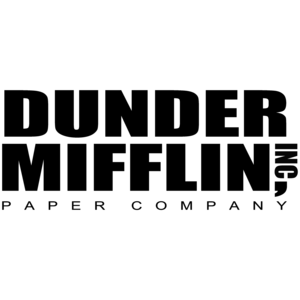 Dunder Miflin Paper Company - The Office t-Shirt