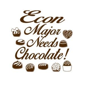 Econ Major Needs Chocolate T-Shirt