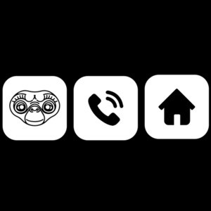 E.T. Phone Home - 80's T-Shirt