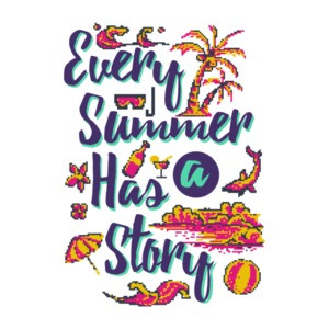 Every Summer Has A Story Retro T-Shirt