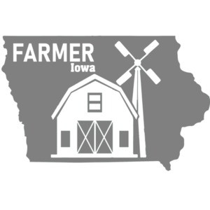 Farmer - Iowa T-Shirt