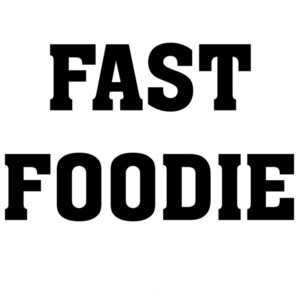 Fast Foodie - Funny food t-shirt