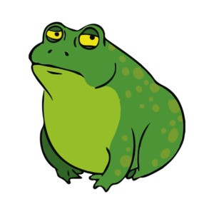 Fat, Lonely, and Depressed Frog T-Shirt