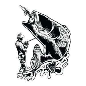 Fisherman Retro Fishing T-Shirt
