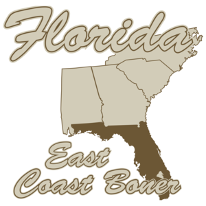 Florida: East Coast Boner T-shirt