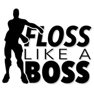 Floss like a boss - funny t-shirt