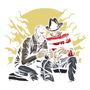 Freddy And Jason Gaming T-Shirt