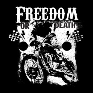 Freedom Or Death Patriotic Motorcycle T-Shirt