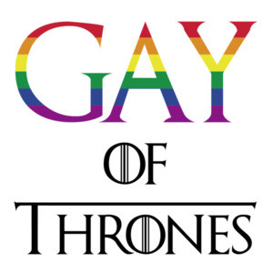 Gay of thrones - gay pride t-shirt - LGBTQ T-Shirt
