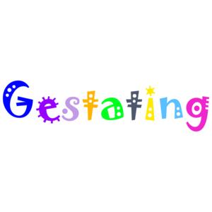 Gestating. Maternity Shirt