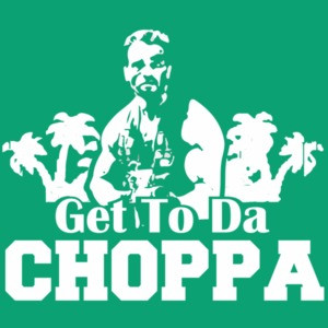 Get to da choppa - Arnold Schwarzenegger shirt - predator t-shirt