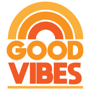 Good Vibes - Rainbow cool t-shirt