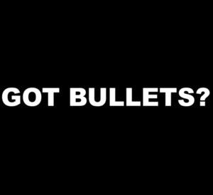 GOT BULLETS? Gun T-Shirt