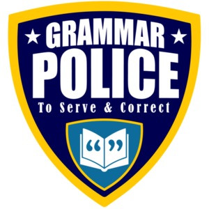 Grammar Police - to serve and correct - funny grammar t-shirt