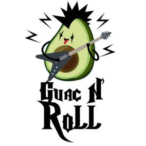 Guac N' Roll - Funny Pun T-Shirt