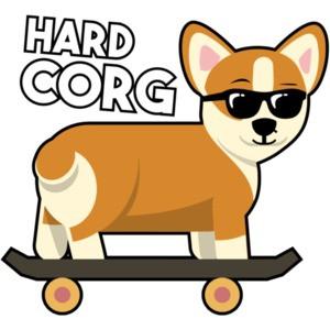 Hard Corg - Corgi / Pembroke Welsh Corgi T-Shirt