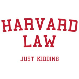 Harvard Law - Just Kidding Kids' Shirt