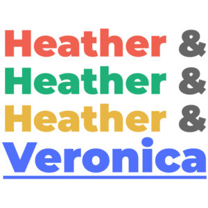 Heather & Heather & Heather & Veronica - Heathers 80's T-Shirt