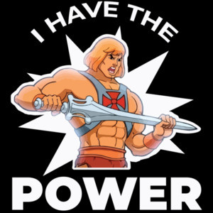 HE-Man I Have The Power - 80's He-Man T-Shirt