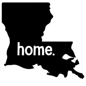 Home Louisiana T-shirt