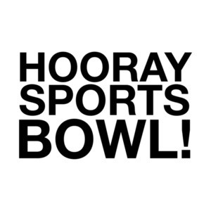 Hooray Sports Bowl Funny Super Bowl T-Shirt