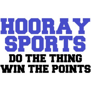 Hooray Sports! Do The Thing Win The Points Shirt