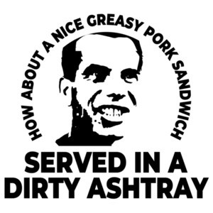 How about a nice greasy pork sandwich served in a dirty ashtray - Bill Paxton - Weird Science 80's T-Shirt